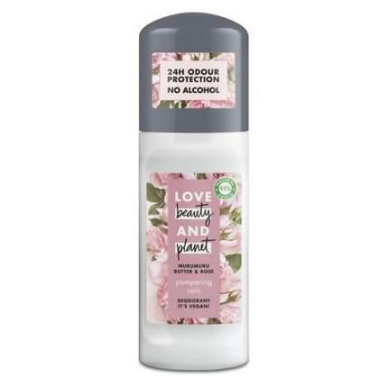 """Дезодорант для женщин Love beauty & planet """"Масло Розы и Мурумуру"""" шариковый"""