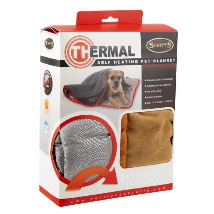 Одеяло для собак Scruffs Thermal, согревающее, коричневое, 110 х 75 см
