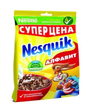 Готовый завтрак Несквик алфавит пакет 250 г