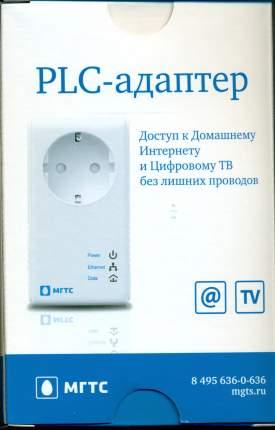 PLC-адаптер МГТС QTECH QPLA-200v.2P White
