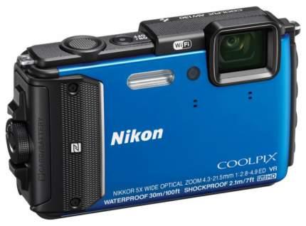 Фотоаппарат цифровой компактный Nikon Coolpix AW130 Blue