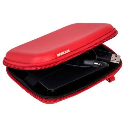 Кейс для портативного USB диска/внеш.HDD Riva 9101 Red