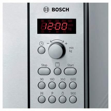 Микроволновая печь с грилем Bosch HMT84G451 silver