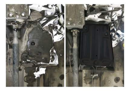 Защита бензобака АвтоБРОНЯ для Nissan; Renault (111.04718.1)