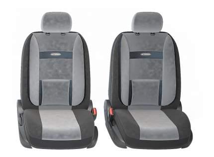 Комплект чехлов на сиденья Autoprofi Comfort COM-1105 BK/D.GY (M)