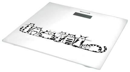 Весы напольные Maxwell MW-2675 W Белый, рисунок