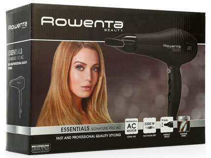 Фен Signature PRO AC Rowenta CV7810 Black