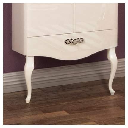 Ножки для шкафа AQUATON фигурные (2шт) белый глянец (1A155403XX010)