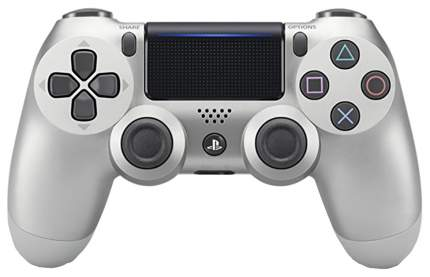Геймпад Sony PlayStation Dualshock 4 v2 CUH-ZCT2E Silver