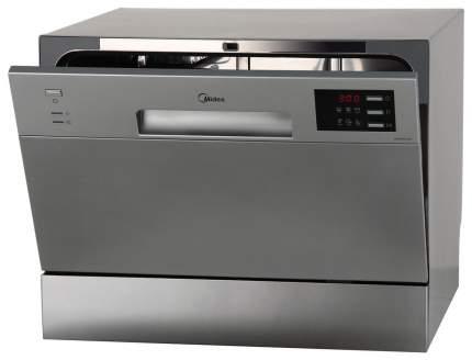 Посудомоечная машина компактная Midea MCFD55320S silver