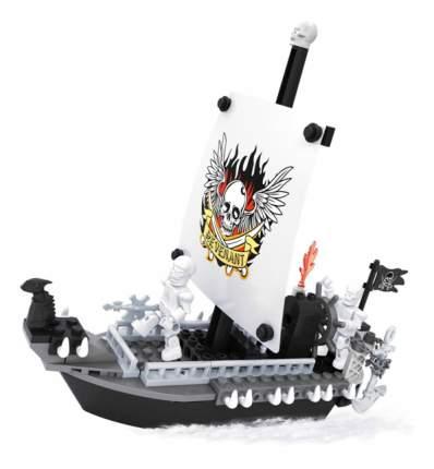 Конструктор пластиковый Ausini Пираты - Пиратский корабль 125 деталей