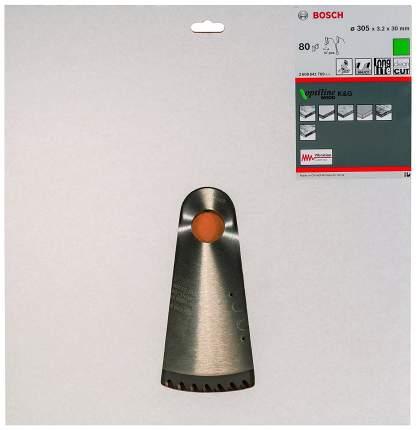 Диск по дереву Bosch STD WO 305x30-80T 2608641769