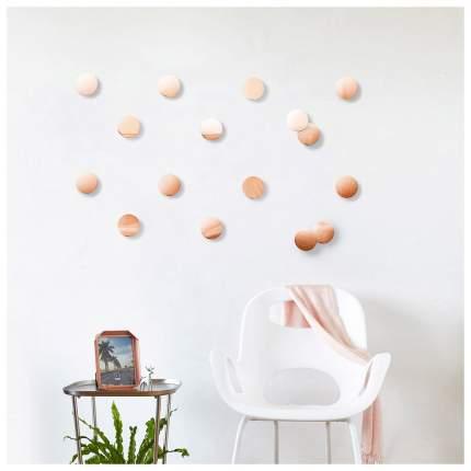 Декор для стен Umbra Confetti dots медь