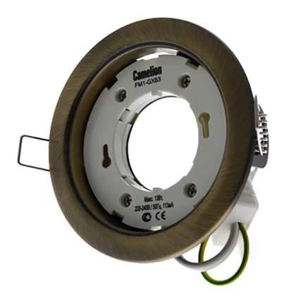 Встраиваемый светильник Camelion FM1-GX53-BS медь