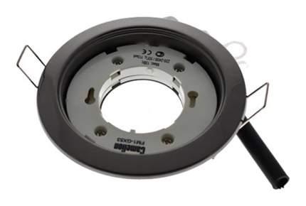 Встраиваемый светильник Camelion FM1-GX53-BC черный хром