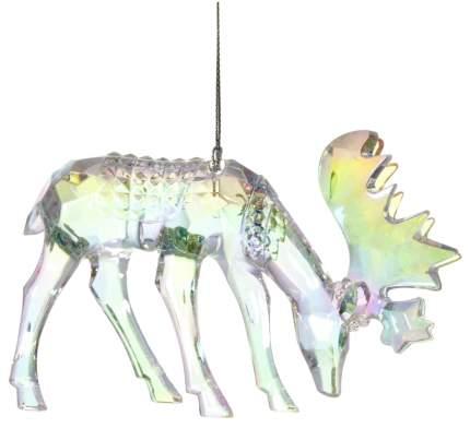 Елочная игрушка Царь Елка Лось с ветвистыми рогами 135002 13 см 1 шт.