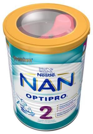 Молочная смесь 2 (от 6 до 12 мес.) NAN Optipro 400 г
