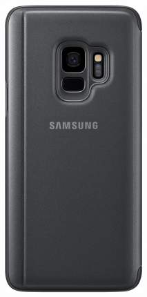 Чехол Samsung Clear View Standing Cover Black для Galaxy S9