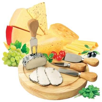 Набор для резки сыра Bradex TK 0090 Коричневый