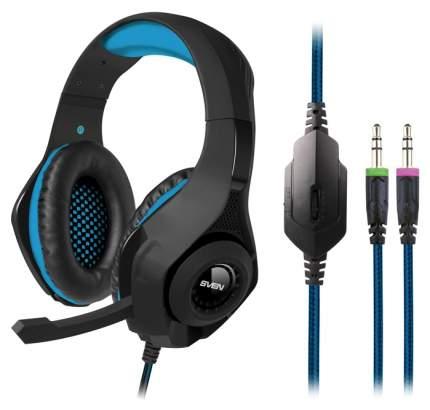 Игровые наушники Sven SV-015626 Blue/Black