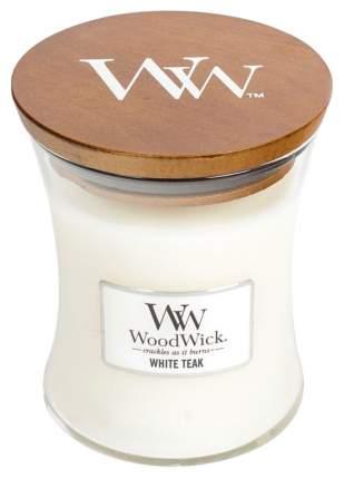 Ароматическая свеча WoodWick Белый тик 812-761 Белый