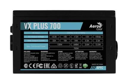 Блок питания компьютера Aerocool VX PLUS 700