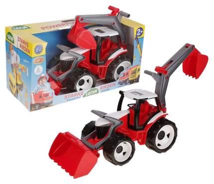 Трактор с грейдером и ковшом в подарочной упаковке, 107 см 02081 Лена