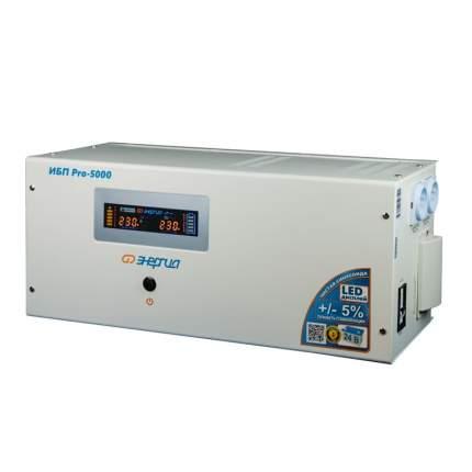 Источник бесперебойного питания Энергия ИБП Pro 5000 24В