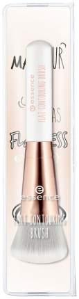 Кисть косметическая плоская для контурирующих средств Flat Contouring Brush Essence
