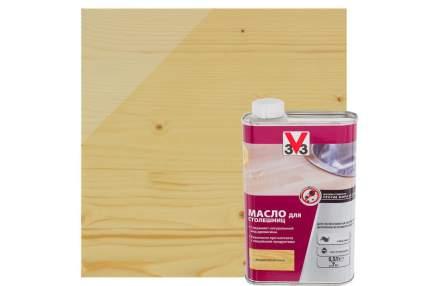 Масло для столешниц 3V3 0.5л. бесцветный