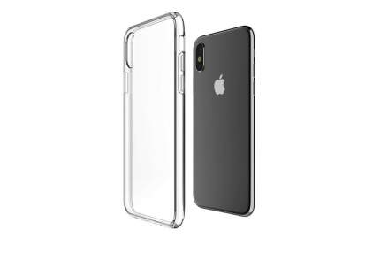 Чехол TFN для Iphone X TPU clear