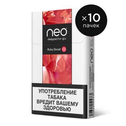 Стики Neo руби буст 10 пачек