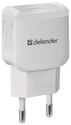 Сетевой адаптер питания Defender EPA-02 зарядка 1А USB-порт белая, пакет