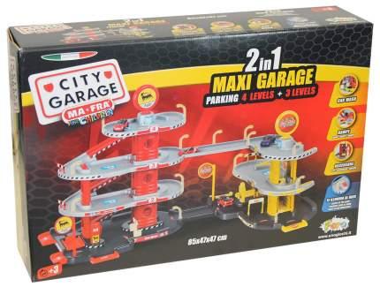 """Игровой набор """"Макси гараж 2 в 1"""", 2 уровня, высота 47 см"""
