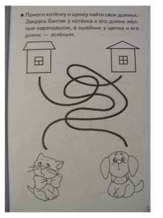 Тетрадь, Развиваем Внимание и логическое Мышление, 3-4 лет, Бортникова
