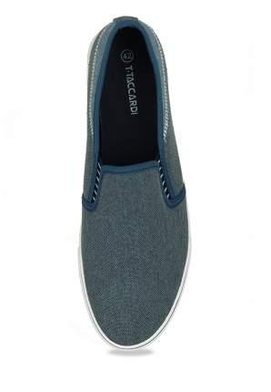 Слипоны мужские T.Taccardi 710018768 синие 45 RU