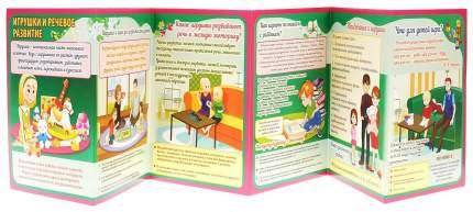 Игрушки и речевое развитие. Ширмы с информацией для родителей и педагогов из 6 секций