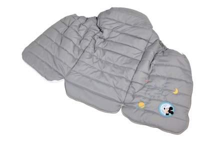 Конверт утепленный Polini kids Disney baby Микки Маус, серый