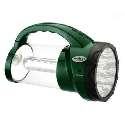 Туристический фонарь Космос 2008L зеленый, 1 режим