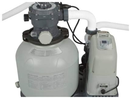 Насос для бассейна Intex и система морской воды с28680