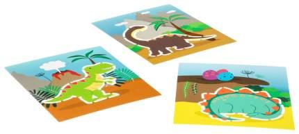Набор трафаретов Динозавры Bondibon Творчество с Буки