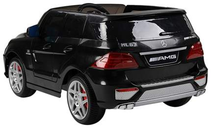 Rt Ml63 Электромобиль Mercedes-Bens Amg 12V R/C Black с Резиновыми Колесами