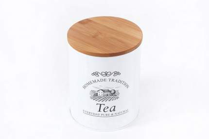 Банка Kesper Tea d-11х13,5 металл/дерево 3825-1