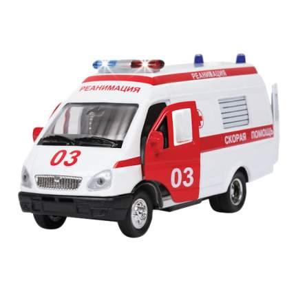 Полицейская Машинка Технопарк Газель 1:43