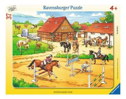Пазл ravensburger «верховая езда» 37 элем.