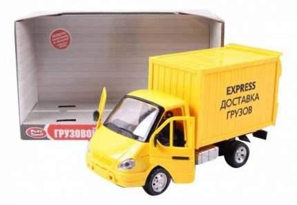 Машина инерционная Play Smart со светом и звуком Газель фургон Доставка 24 см