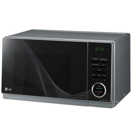 Микроволновая печь с грилем LG MH6353HDJ silver/black