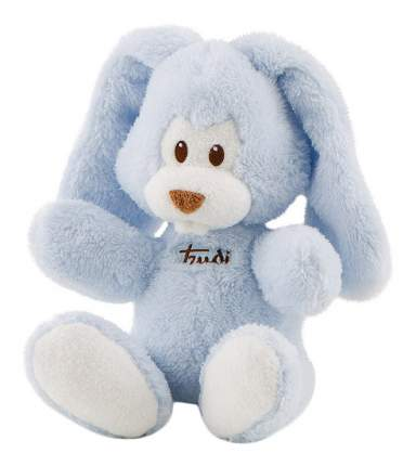 Мягкая игрушка Trudi Заяц Вирджилио (голубой), 26 см