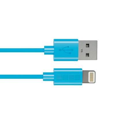 Кабель InterStep Lightning 1м Blue