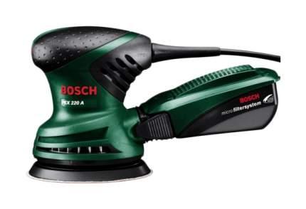 Сетевая эксцентриковая шлифовальная машина Bosch PEX 220 A 603378020